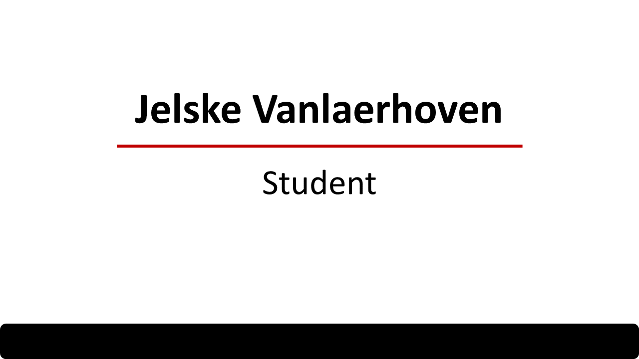 Klantervaring Jelske van Laerhoven