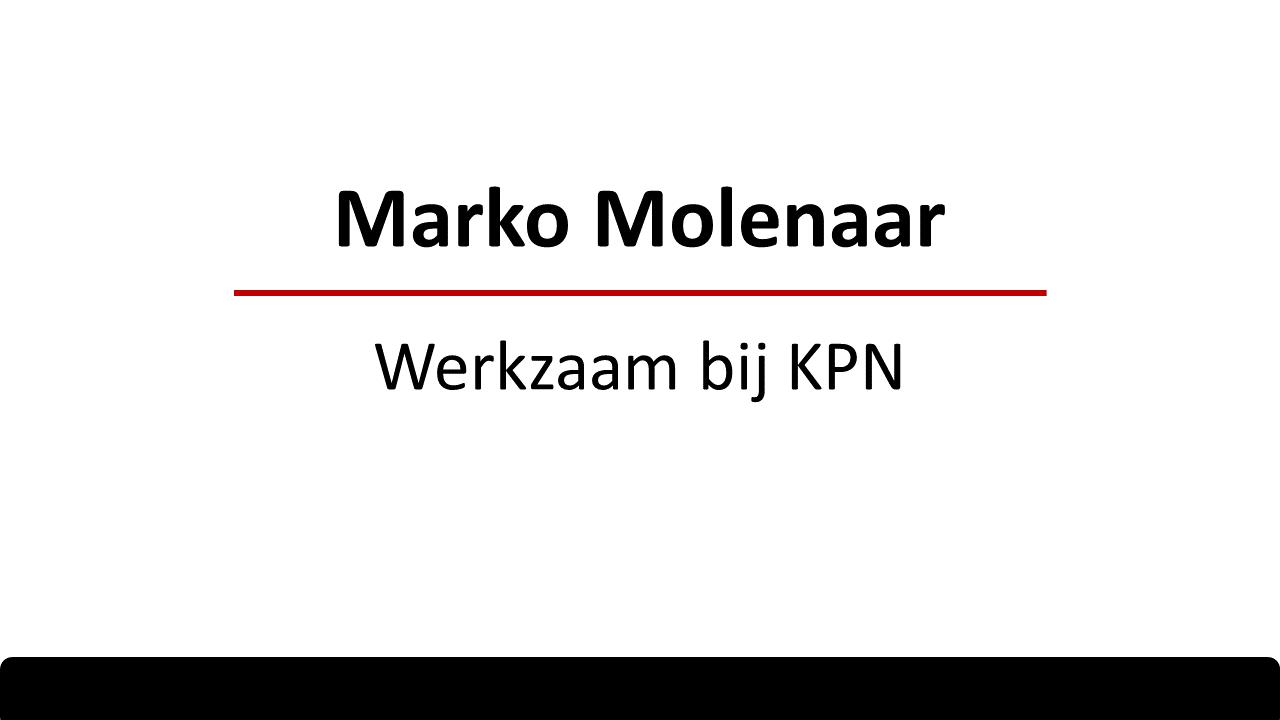 Klantervaring Marko Molenaar