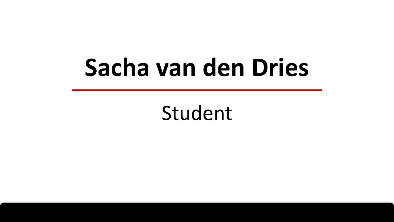 Klantervaring Sacha van den Dries