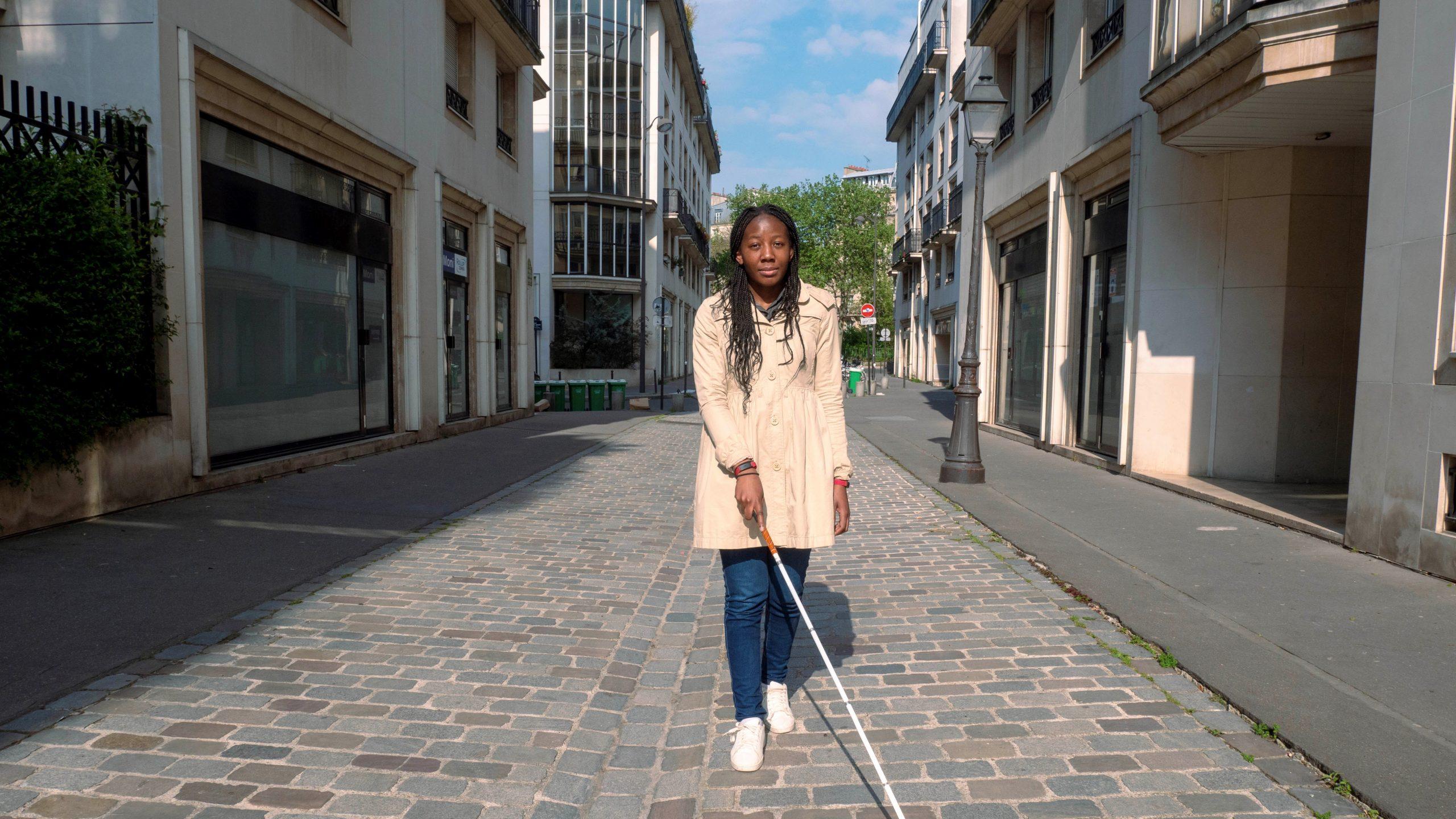 Eerste trillende GPS voor blinden en slechtzienden