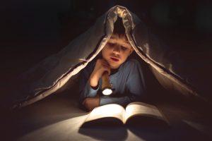 lezen onder de dekens